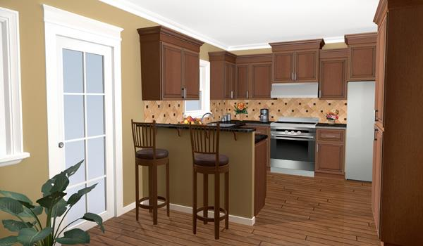 Interior View - Kitchen