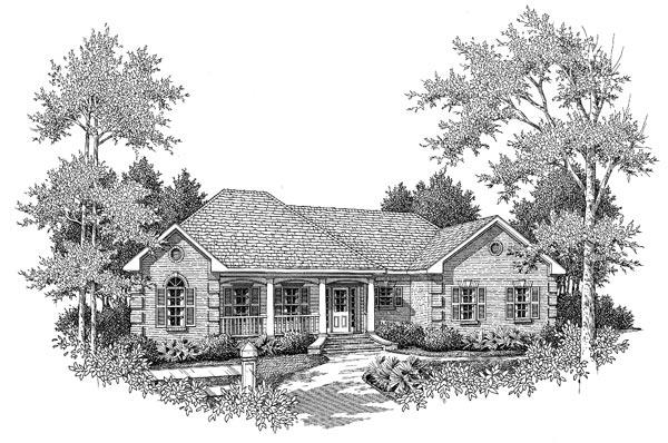 Front Elevation - B&W