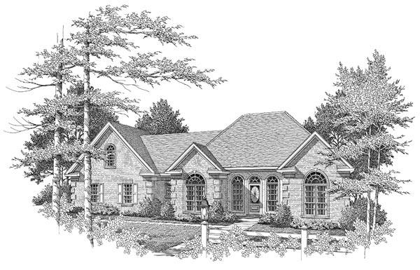 Front Elevation - B & W