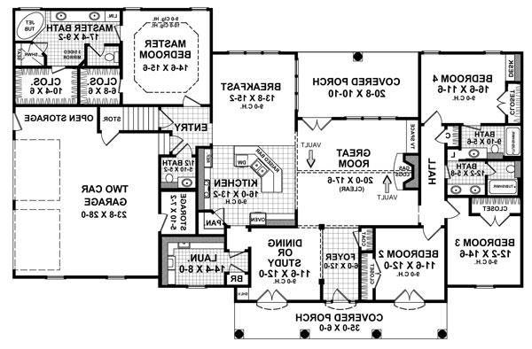 Floorplan by DFD House Plans