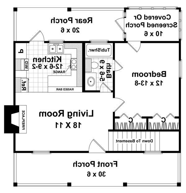 Basement Floorplan Option