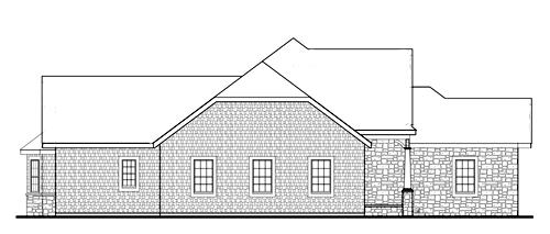 Right Side by DFD House Plans