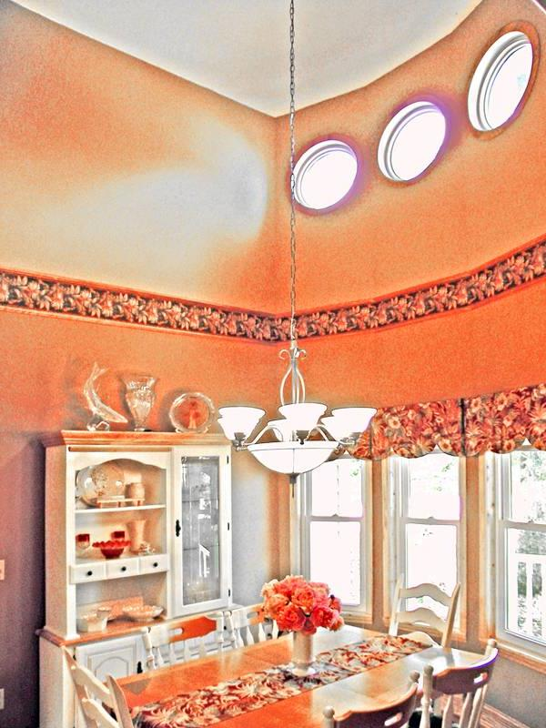 Breakfast Room by DFD House Plans