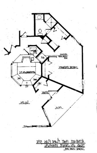 Alternate Part Plan Without Lower Level by DFD House Plans