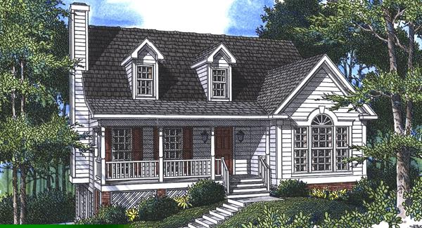 Rendering by DFD House Plans