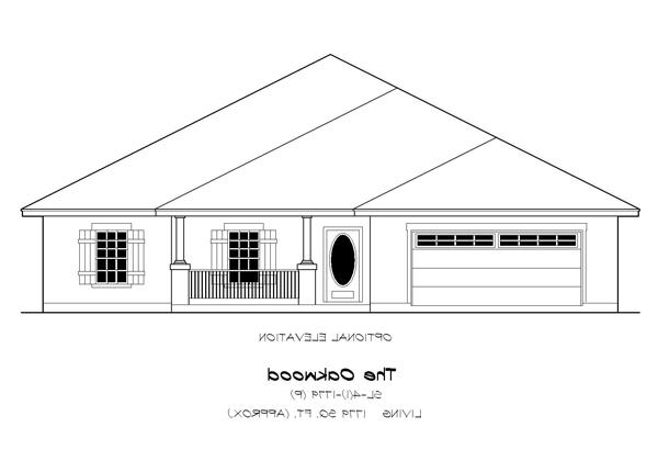 Front Elevation Opt. B