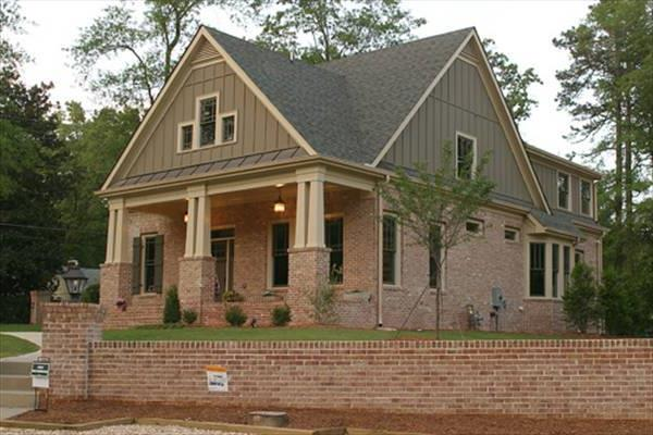 Front Left Side by DFD House Plans