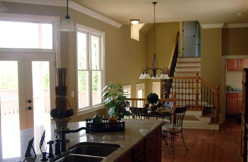 Kitchen -View to Breakfast Area by DFD House Plans