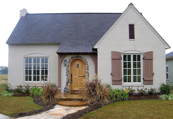Front Photograph by DFD House Plans