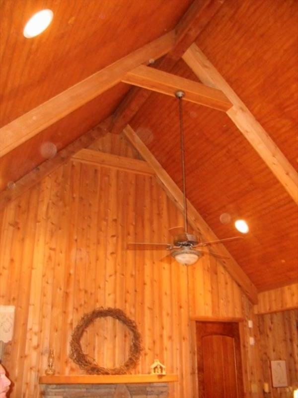 Ceiling Beams by DFD House Plans