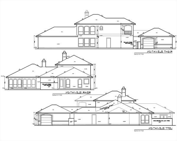 Rear and Side Elevations