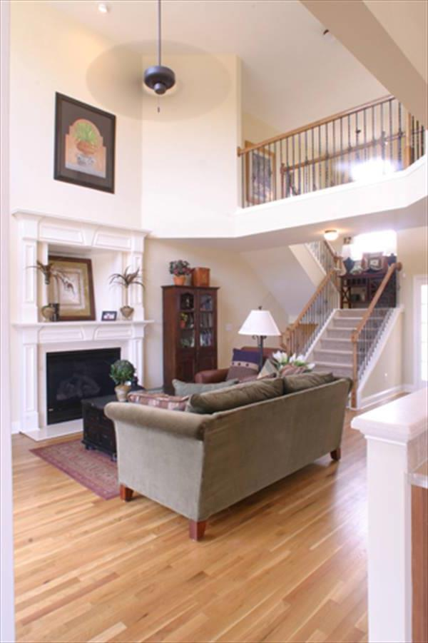 Living Area w/ Stairs