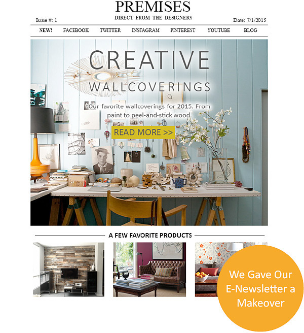 New From Direct From The Designers Premises Issue 1