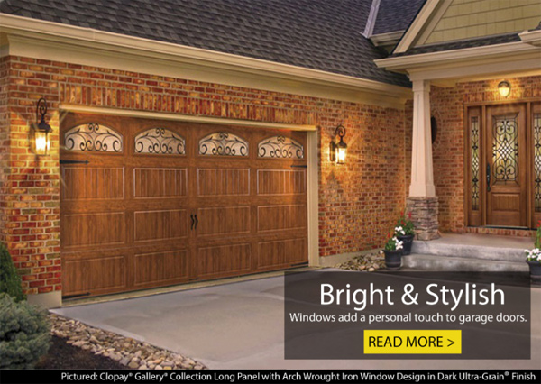 See How Many Options There Are for Personalizing Your Garage Doors with Windows!