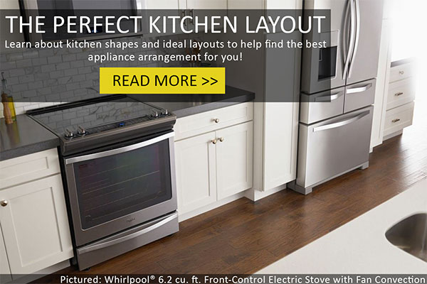 Premises 27 kitchen appliance arrangement for Perfect kitchen layout